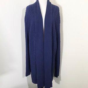 Lauren Ralph Lauren Long Knit Cardigan XL